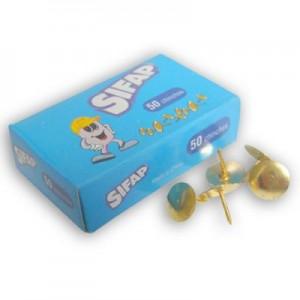 Chinches Sifap 1 punta bronceadas x 50