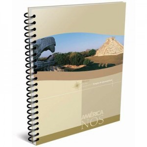 Cuaderno America 16/21 c/esp x 80h Ray