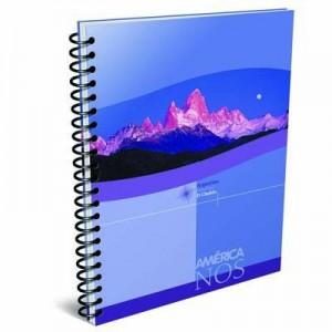 Cuaderno America A4 C/espiral x 84h Ray