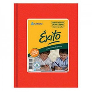 Cuaderno Exito Forrado T/D 50h Ray.