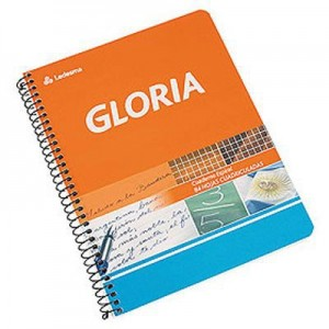 Cuadernos Gloria 16/21 c/esp x 84h Ray