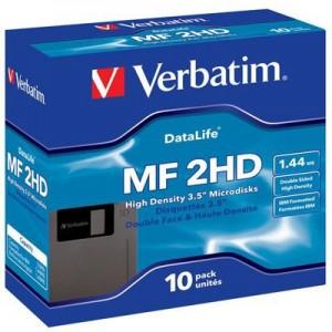 Diskette Verbatin 3 1/2. Caja x 10 unid.