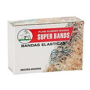 Bandas Elast Super Bands 100mm x 5 mm x 500 grs