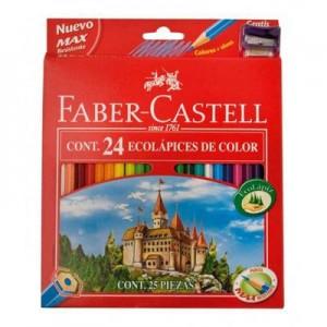 Lapices de Colores Faber Castell x 24L