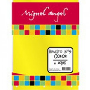 Repuesto Canson Miguel Angel Color Nro. 3 x 6h