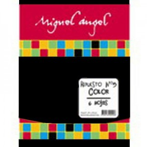 Repuesto Canson Miguel Angel Negro Nro. 3x 5h