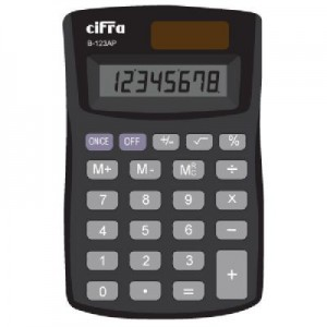 Calculadora Cifra B-123AP