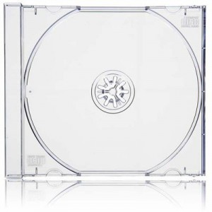 Caja CD Slim Transparente