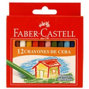 Crayones Faber Castell x 12 unid.