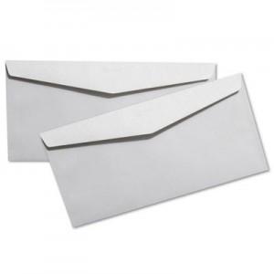 Sobre Blanco Oficio Ingles 65 grs. caja x 500 unidades