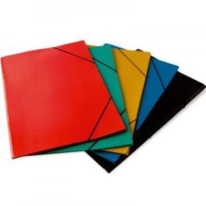 Carpeta 3 Solapas c/Elast color Nro 5 Oficio