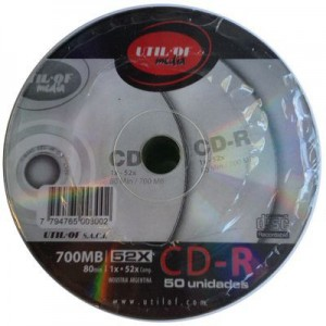 Bulk DVD Util Of x 50 unid.