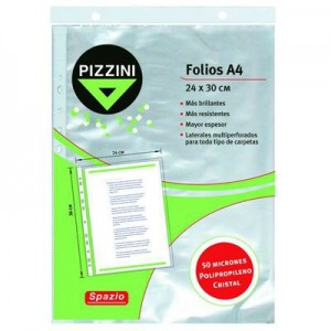 Folio Pizzini A4 x 10 Unidades