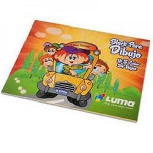 Block de Dibujo Luma N5 Color x 20 hojas