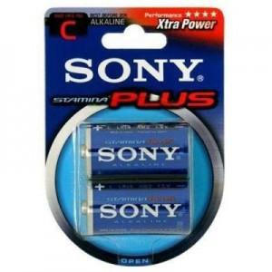 Pilas Sony Plus C alcalinas x unidad