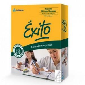 Repuesto Exito Ecologico Cuadriculado x 288 hojas