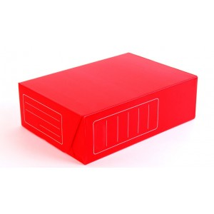 "Caja de archivo Plastica ""PLANA"" (38x28x12)"