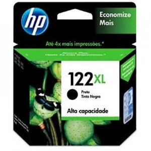 Cartucho HP 122XL Negro