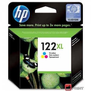Cartucho HP 122XL Color