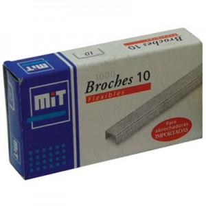 Broches MIT 10 x 1000u