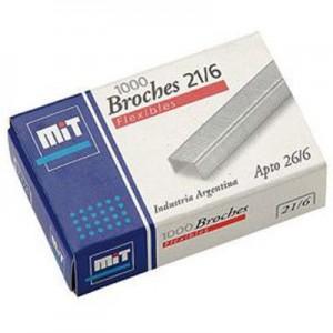 Broches MIT 21/6 x 1000u