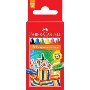 Crayones Faber Castell x 6 unid