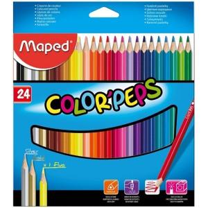 Lapices de Colores Maped x 24 Colores