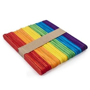 Palitos de Helado Color x 50 unid.