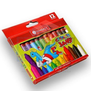 Crayones Simball Jumbo x 12...