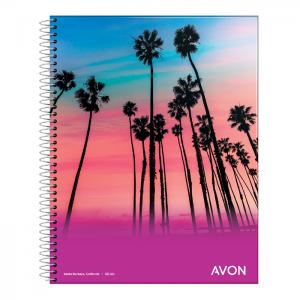 Cuaderno Avon A4 C/espiral...