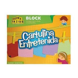 Block Cartulina Entretenida...