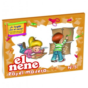 Block El Nene Kraft (Papel...