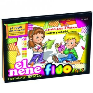 Block El Nene Fluo x 24 hojas
