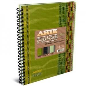 Cuaderno Arte Raices A4...