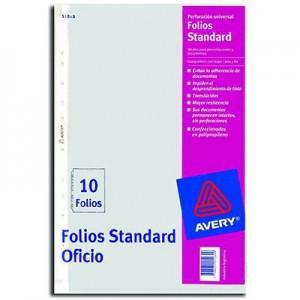 Folio PP Avery Oficio x10