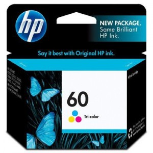 Cartucho HP 60 Color (CC643WL)