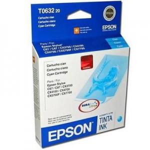 Cartucho Epson T63 Cyan (T063220)