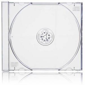 Caja CD Slim Transparente