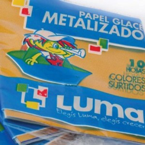 Papel Glase Luma Metalizado