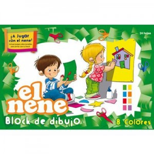Block de Dibujo El Nene Color 24 h