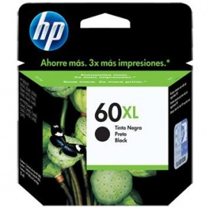 Cartucho HP 60 XL Negro...