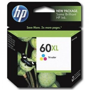 Cartucho HP 60 XL Tricolor...