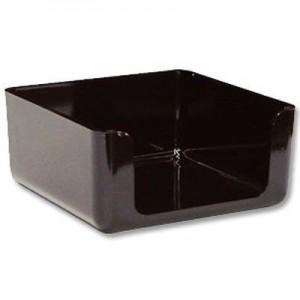 Cubo Portataco Pizzini Negro