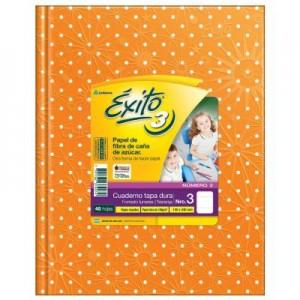 Cuaderno Exito Nro 3...