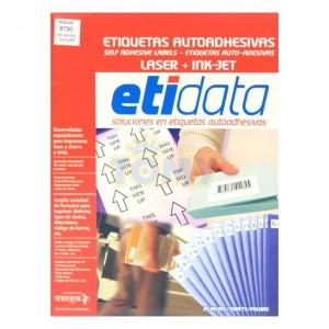 Etiquetas Etidata A4 x 25 Hojas